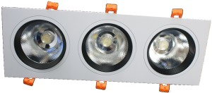 Downlight LED 30W 4500K potrójny