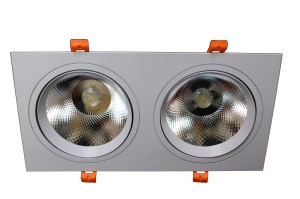 Downlight LED 30W 4500K podwójny